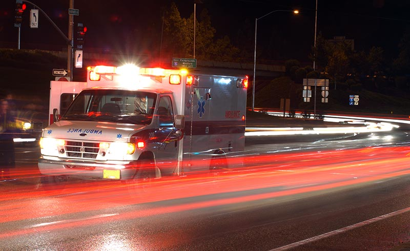 Emergency vehicles have special legal exemptions to break traffic laws when necessary.